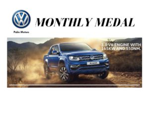 Palm Motors Monthly Medal @ White River Country Clu