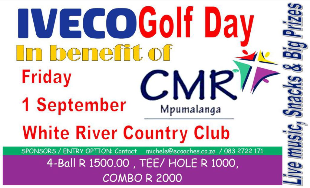 IVECO Golf Day in Benefit of CMR Mpumalanga @ White River Country Club