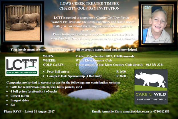 LCTT Charity Golf Day @ White River Country Club