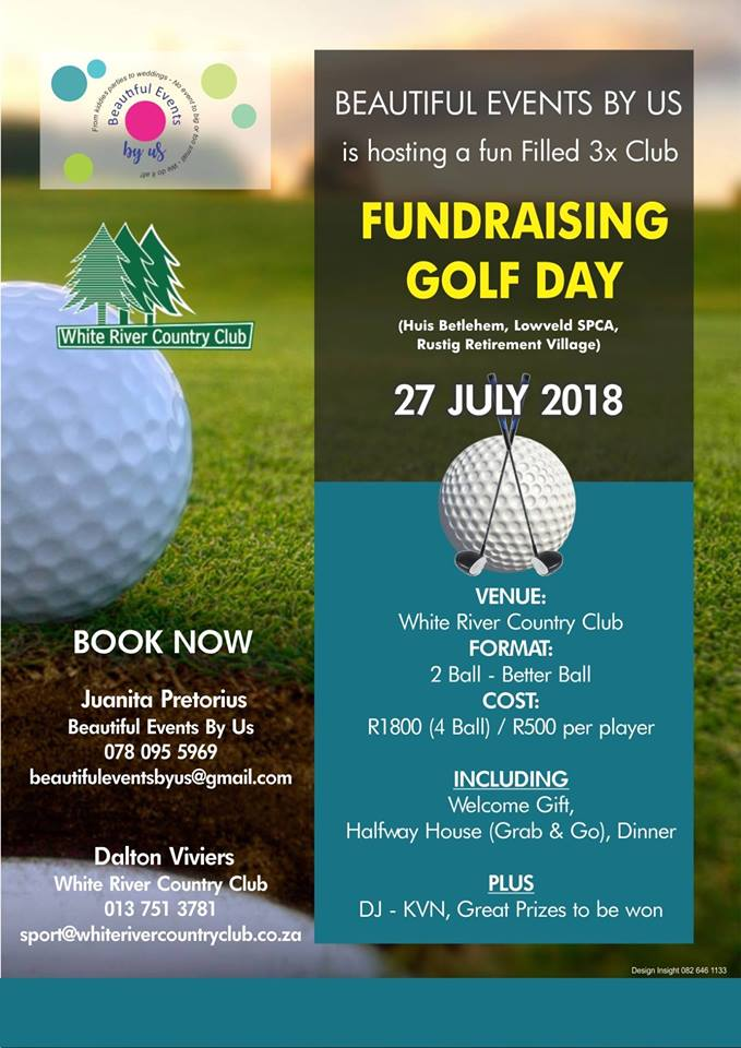 3 Club Fundraising Golf Day @ White River Country Club